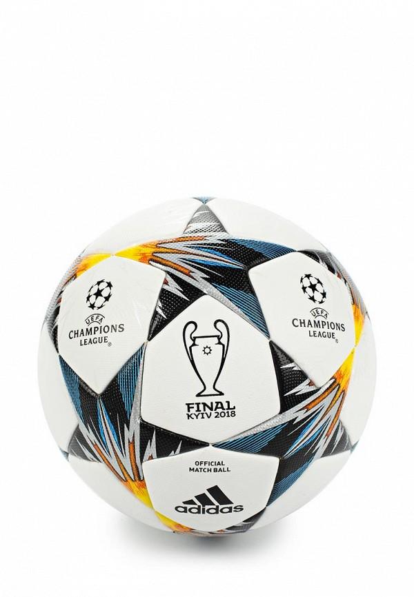 Мяч футбольный adidas adidas AD002DUALSO9 топ miamoda klingel цвет мятный белый