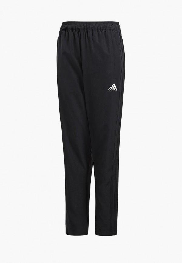 Брюки спортивные adidas, adidas AD002EBALXQ5, черный, Весна-лето 2018  - купить со скидкой