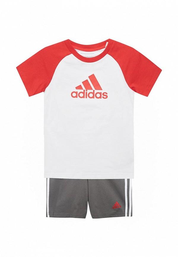 Костюм спортивный adidas adidas AD002EBALYK4 куртка спортивный костюм adidas v11076 980