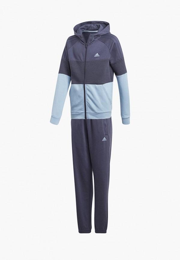 Костюм спортивный adidas adidas AD002EBALYQ0 куртка спортивный костюм adidas v11076 980