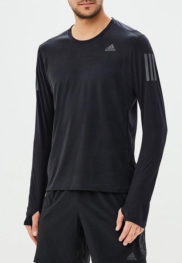 Купить Лонгслив спортивный adidas, adidas AD002EMAMBB5, черный, Весна-лето 2018