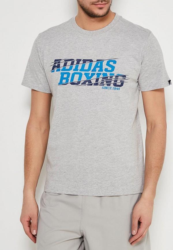 Футболка спортивная adidas Combat adidas Combat AD002EMTZR30 adidas combat adidas combat ad015duddn21