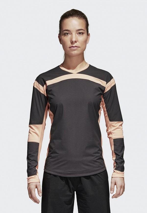 Купить Лонгслив спортивный adidas, adidas AD002EWAMCH8, серый, Весна-лето 2018