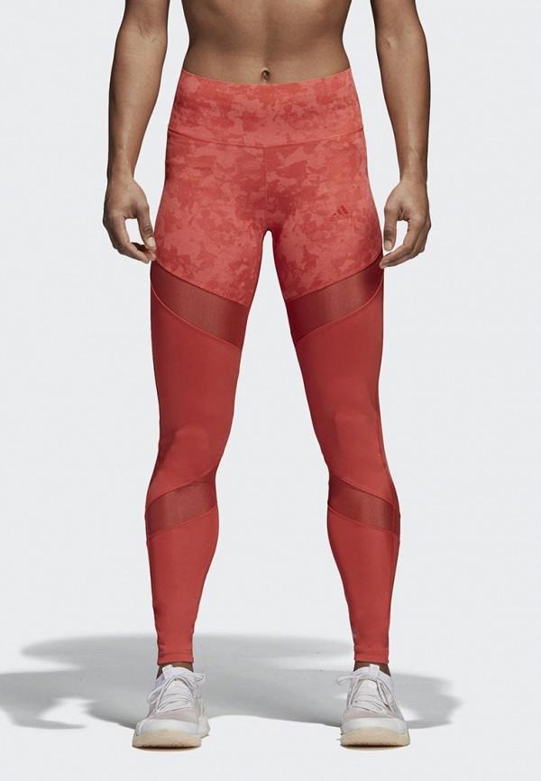 Леггинсы adidas adidas AD002EWAMCL4 леггинсы fantosh цвет красный