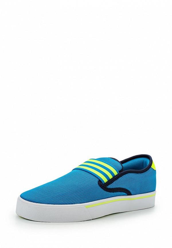 Слипоны Adidas Neo (Адидас Нео) AQ1498: изображение 1