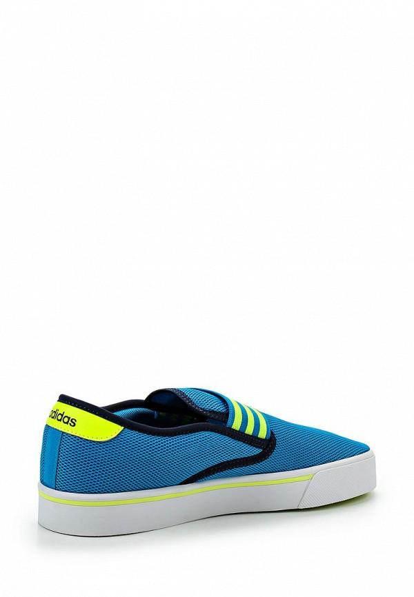 Слипоны Adidas Neo (Адидас Нео) AQ1498: изображение 2