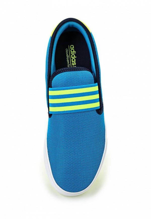 Слипоны Adidas Neo (Адидас Нео) AQ1498: изображение 4