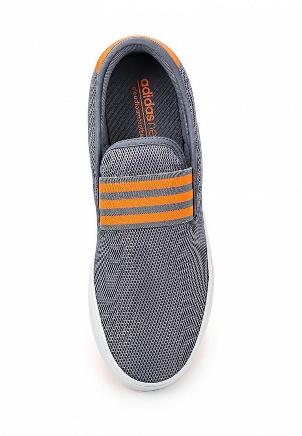 Слипоны Adidas Neo (Адидас Нео) AQ1499: изображение 4