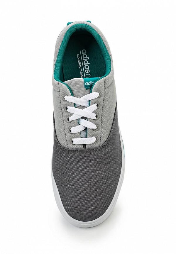 Мужские кеды Adidas Neo (Адидас Нео) F99240: изображение 4