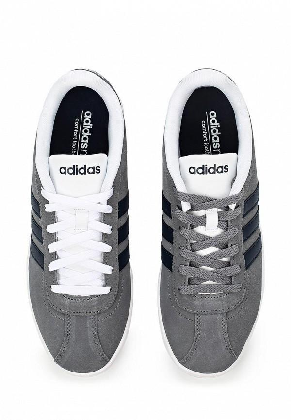 Мужские кеды Adidas Neo (Адидас Нео) F99259: изображение 4