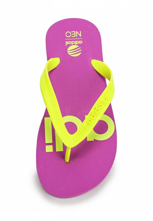 Женские сланцы Adidas Neo (Адидас Нео) F97707: изображение 4