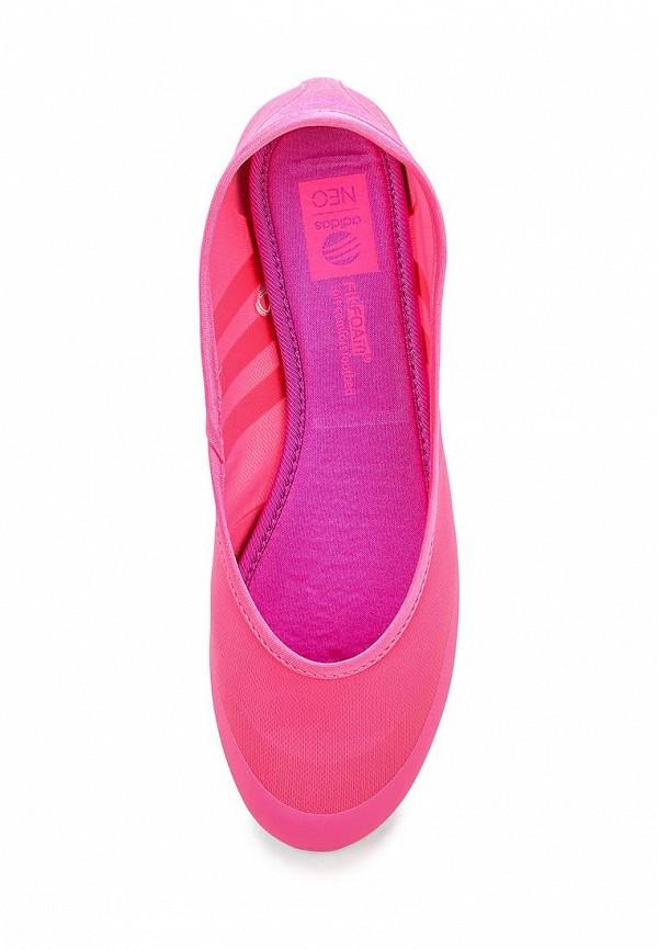 Женские балетки Adidas Neo (Адидас Нео) F97970: изображение 4