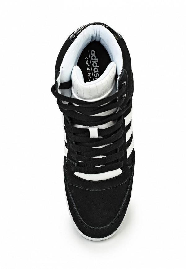 Женские кеды на танкетке Adidas Neo (Адидас Нео) AQ1540: изображение 4