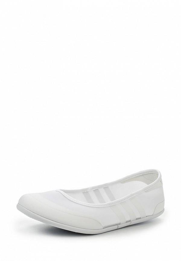Женские балетки Adidas Neo (Адидас Нео) F99441: изображение 1