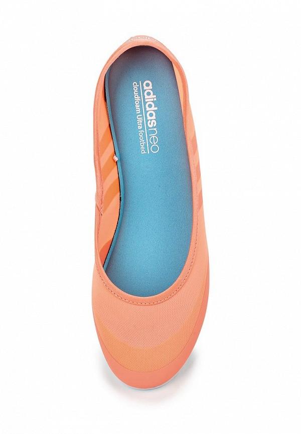 Женские балетки Adidas Neo (Адидас Нео) F99444: изображение 4