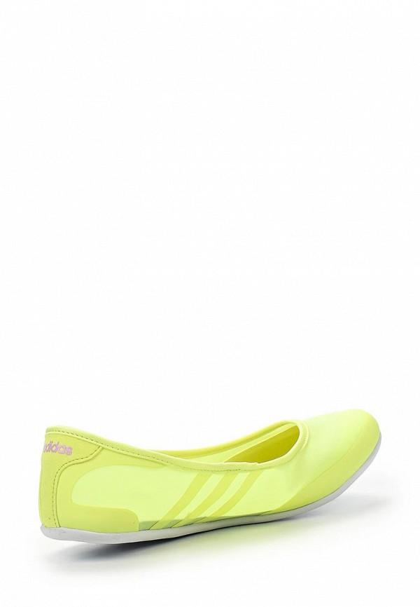 Женские балетки Adidas Neo (Адидас Нео) F99445: изображение 2