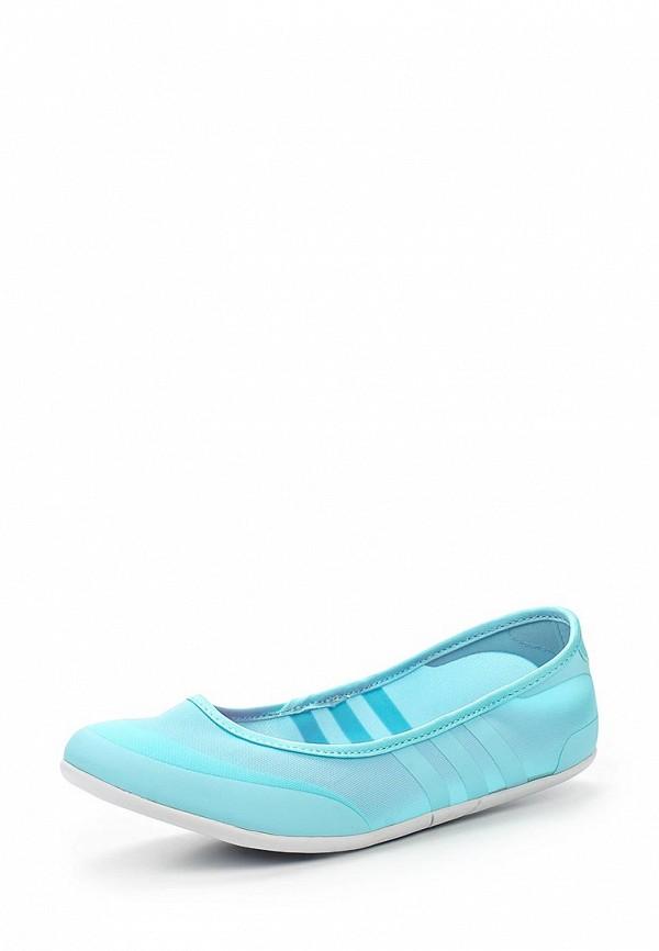 Женские балетки Adidas Neo (Адидас Нео) F99446
