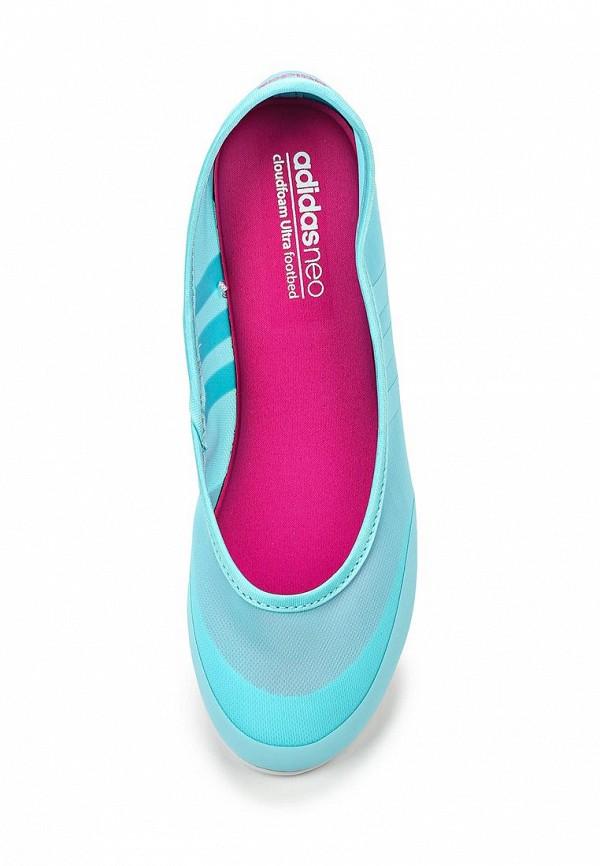Женские балетки Adidas Neo (Адидас Нео) F99446: изображение 4