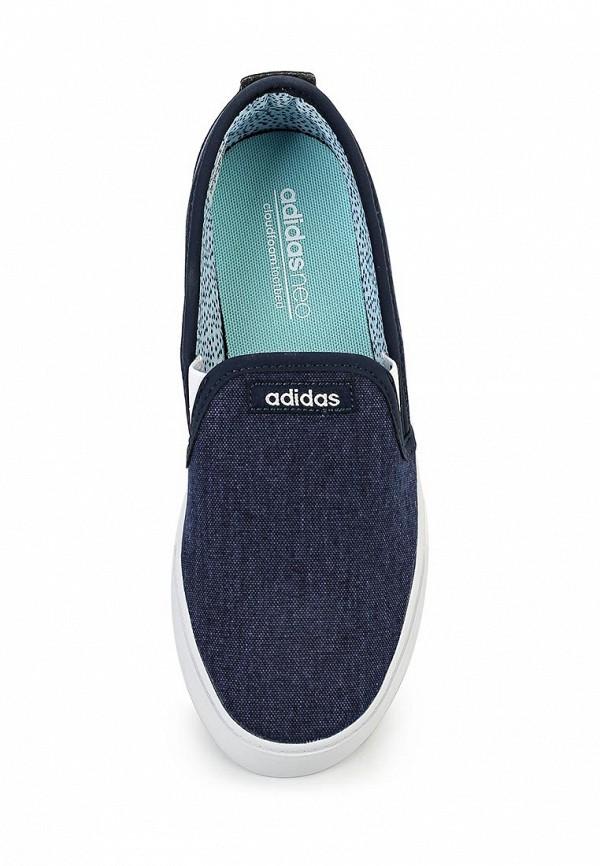 Женские слипоны Adidas Neo (Адидас Нео) F99449: изображение 4