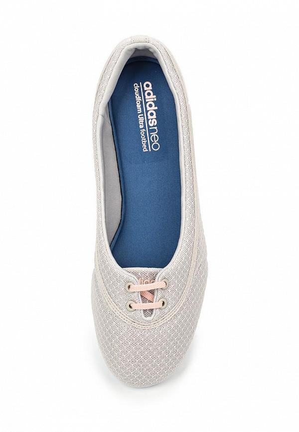 Женские балетки Adidas Neo (Адидас Нео) F99459: изображение 4