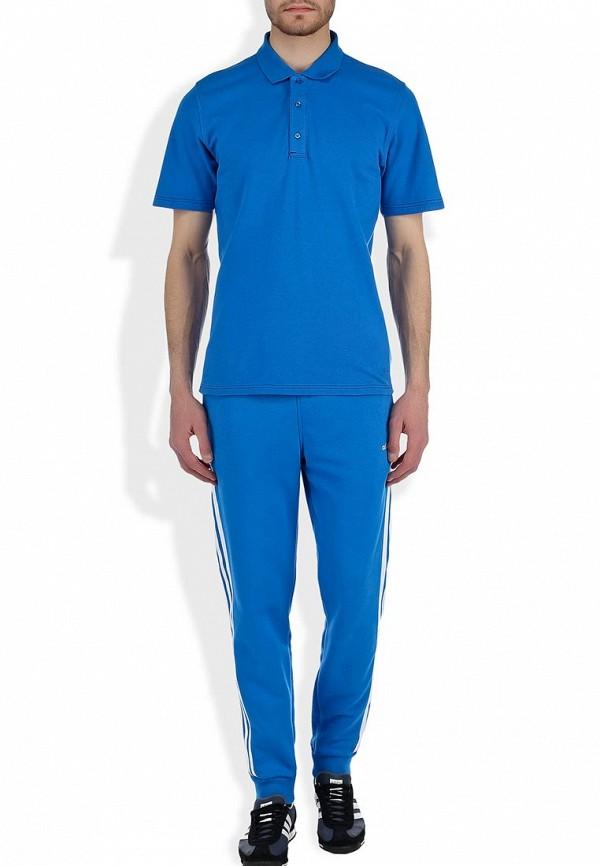 Мужские поло Adidas Neo (Адидас Нео) M60695: изображение 7