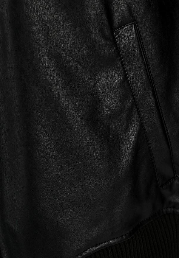 Кожаная куртка Adidas Neo (Адидас Нео) Z73345: изображение 4