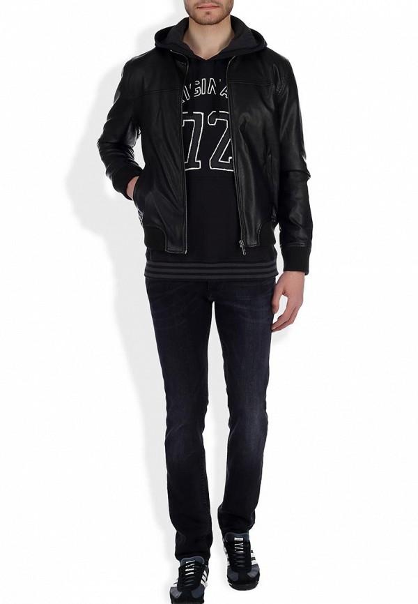 Кожаная куртка Adidas Neo (Адидас Нео) Z73345: изображение 6
