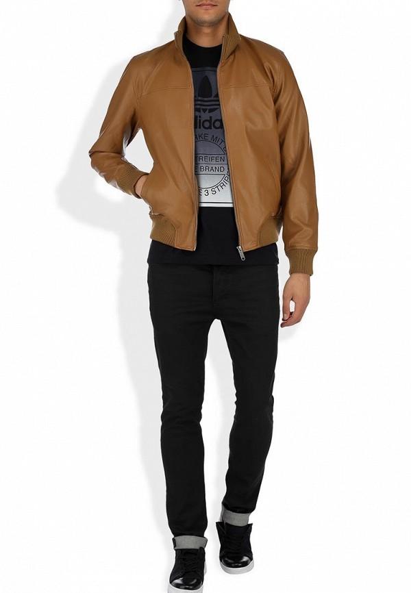 Кожаная куртка Adidas Neo (Адидас Нео) Z73346: изображение 7
