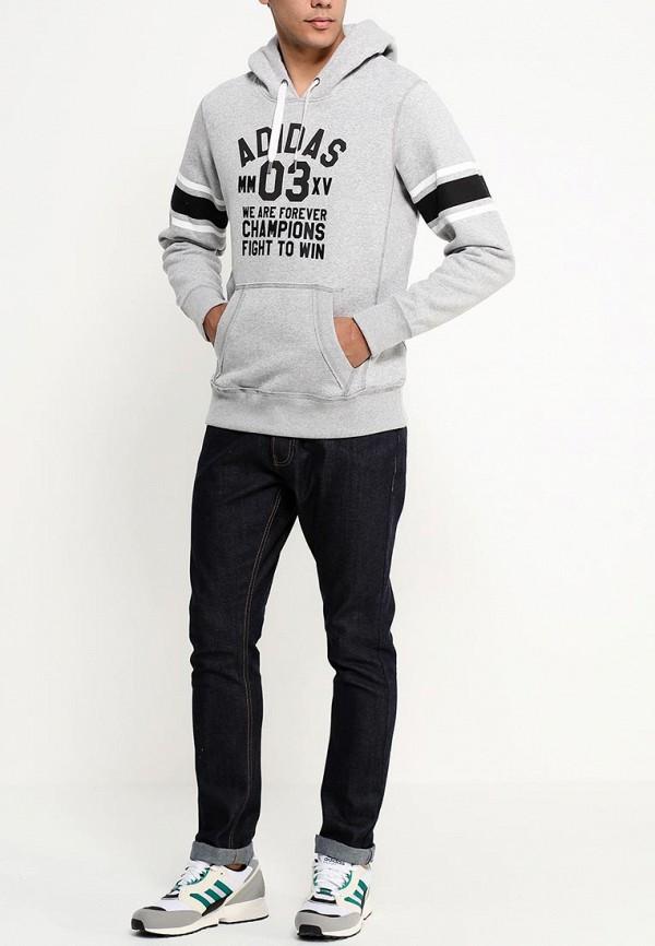 Мужские худи Adidas Neo (Адидас Нео) S26727: изображение 3