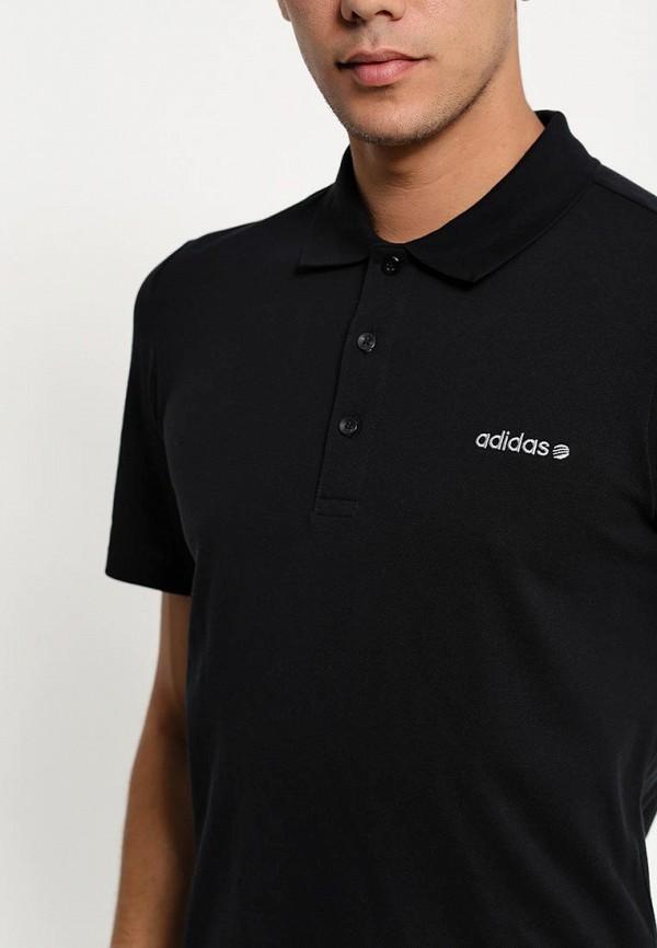 Мужские поло Adidas Neo (Адидас Нео) A08362: изображение 3