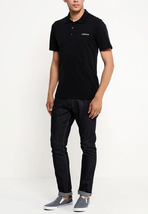 Мужские поло Adidas Neo (Адидас Нео) A08362: изображение 4