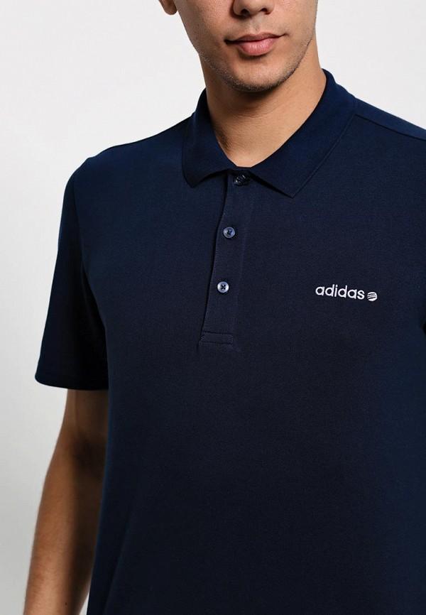 Мужские поло Adidas Neo (Адидас Нео) A08363: изображение 3