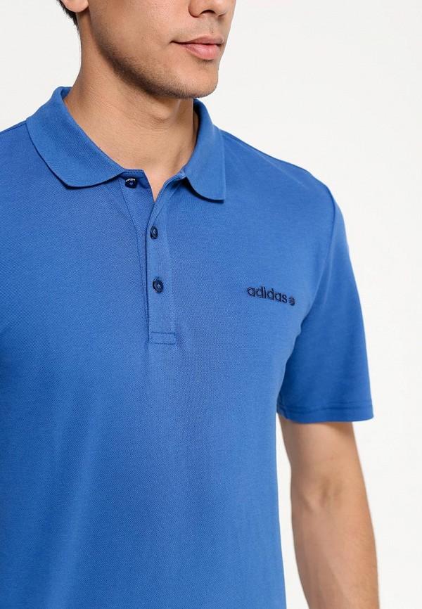 Мужские поло Adidas Neo (Адидас Нео) A08365: изображение 2