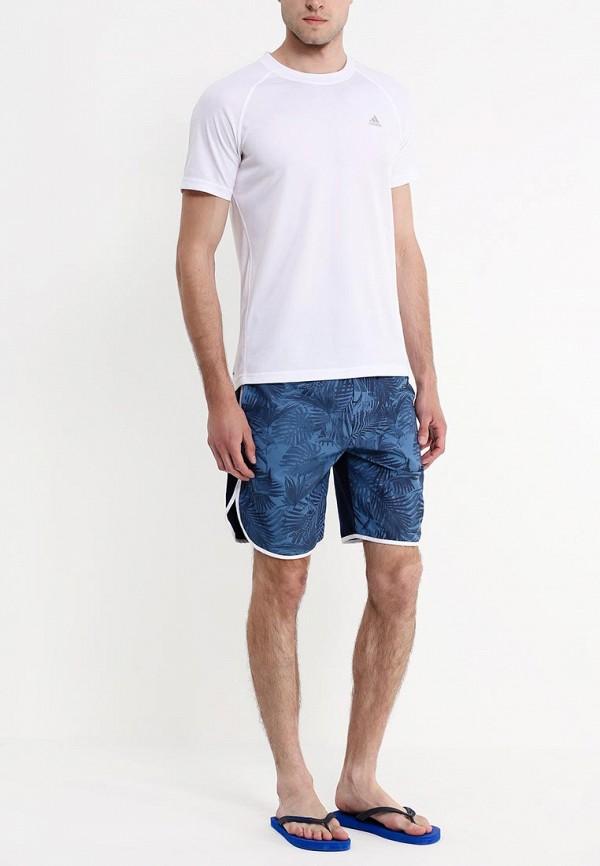 Мужские шорты для плавания Adidas Neo (Адидас Нео) AC5981: изображение 3