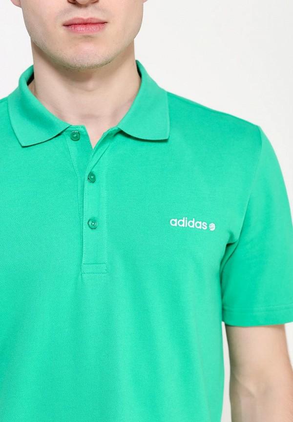 Мужские поло Adidas Neo (Адидас Нео) A08366: изображение 2