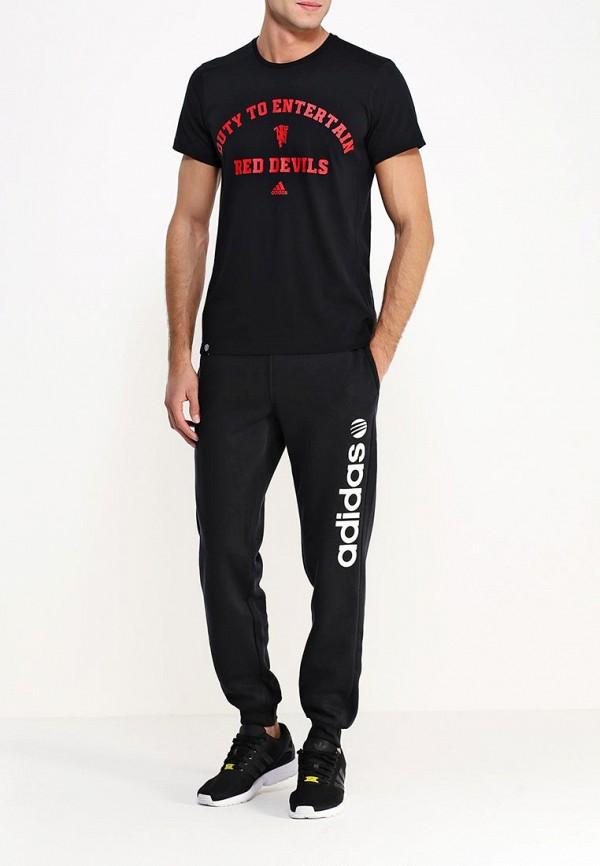 Мужские спортивные брюки Adidas Neo (Адидас Нео) A08361: изображение 2