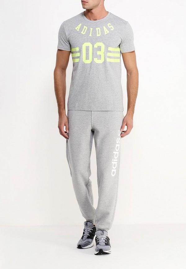 Мужские спортивные брюки Adidas Neo (Адидас Нео) S25100: изображение 2