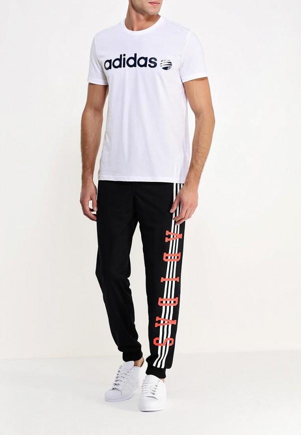 Мужские спортивные брюки Adidas Neo (Адидас Нео) AB3485: изображение 2