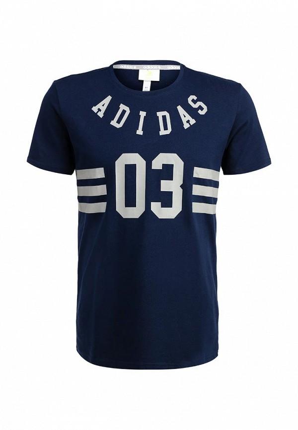 Футболка с коротким рукавом Adidas Neo (Адидас Нео) AB8637: изображение 1