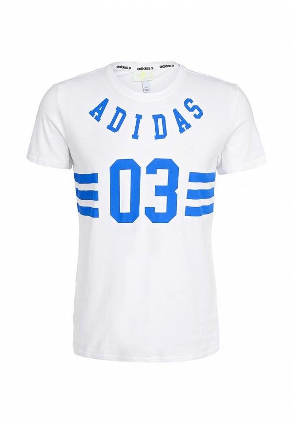 Футболка с коротким рукавом Adidas Neo (Адидас Нео) AB8639: изображение 1