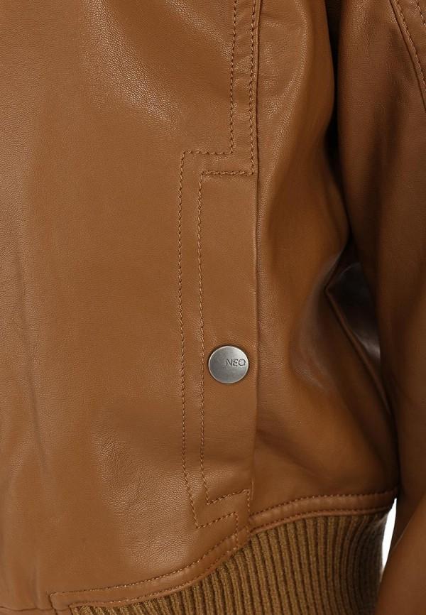 Кожаная куртка Adidas Neo (Адидас Нео) Z73344: изображение 3
