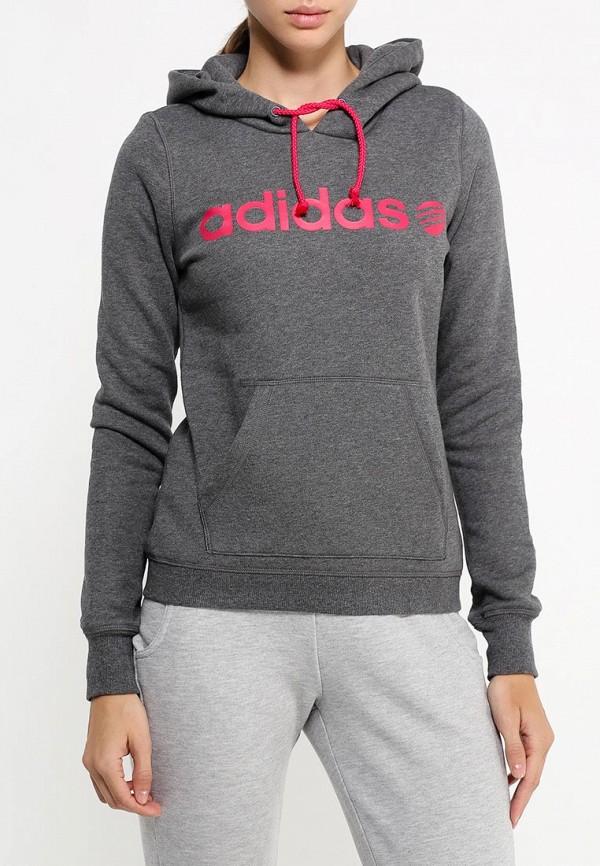 Женские худи Adidas Neo (Адидас Нео) AB8602: изображение 3
