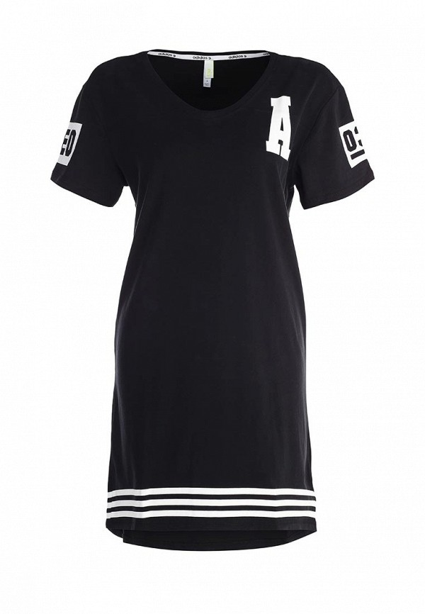 Платье-миди Adidas Neo (Адидас Нео) AB3822: изображение 1