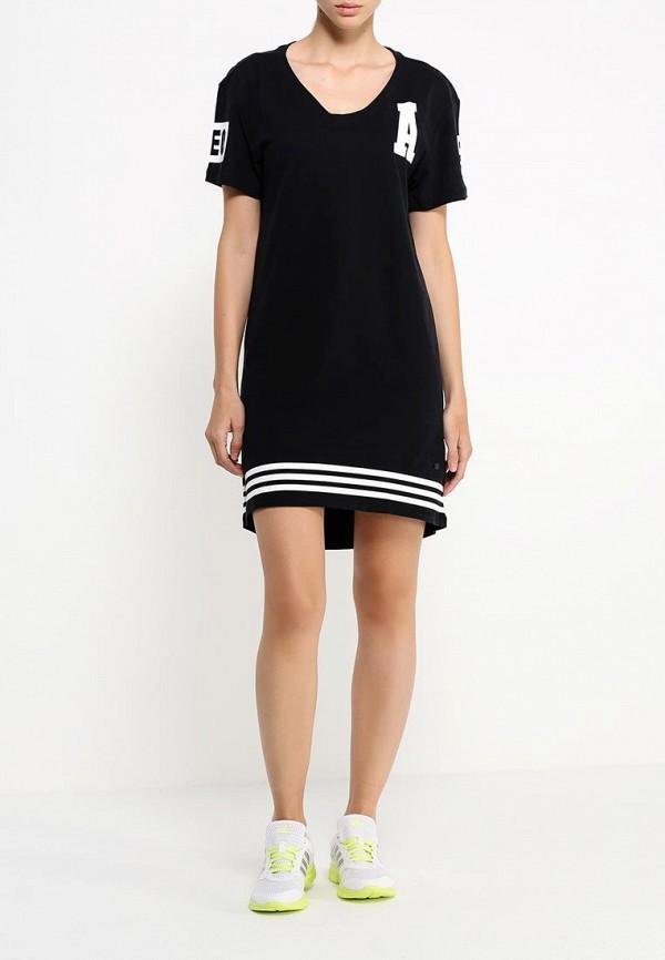 Платье-миди Adidas Neo (Адидас Нео) AB3822: изображение 2