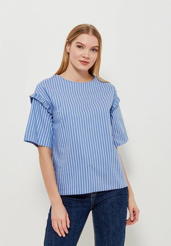 Купить Блуза adL, adL AD005EWAMJO5, синий, Весна-лето 2018