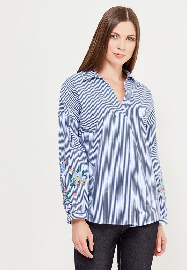 Купить Блуза adL, adL AD005EWAMJX4, синий, Весна-лето 2018