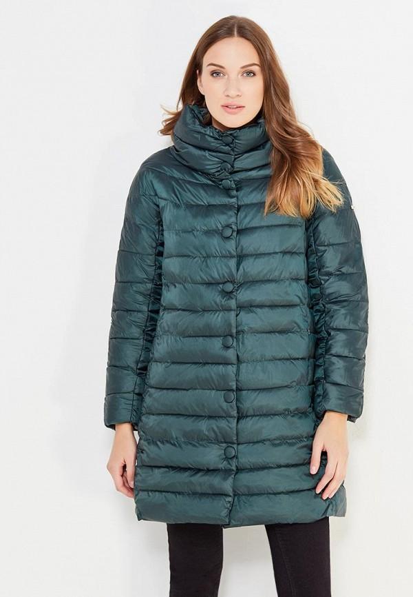Купить Куртка утепленная adL, adL AD005EWVPW22, зеленый, Осень-зима 2017/2018