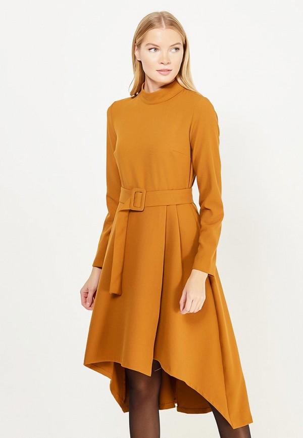 Купить Платье adL, adL AD005EWYKQ38, коричневый, Осень-зима 2017/2018