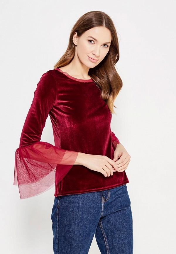 Купить Блуза adL, adL AD005EWZAD35, бордовый, Осень-зима 2017/2018