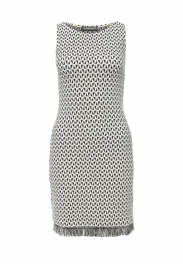 Платье-мини adL 124W9501000